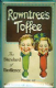 Rowntrees Toffees embossed steel sign